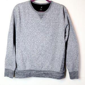 J Ferrar | Heathered Popover Sweat Shirt